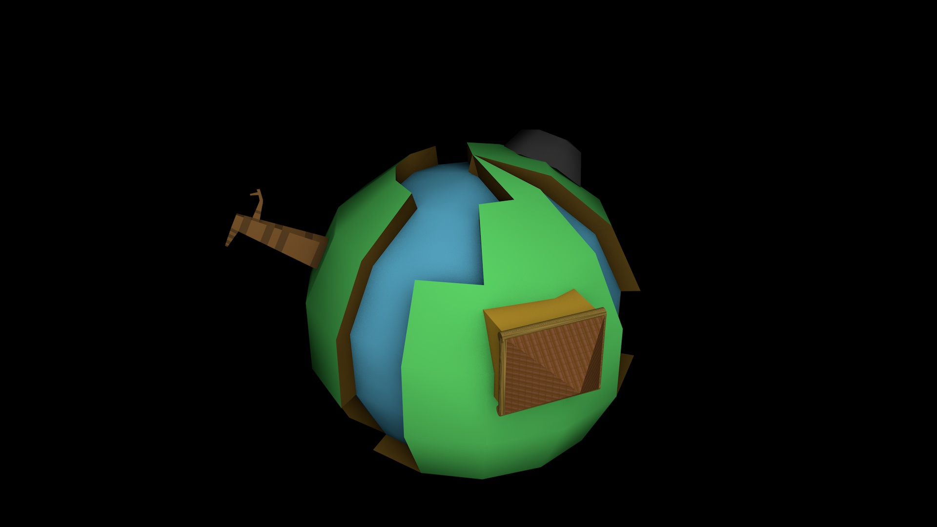 low poly earth 1_0001